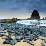 Pantai Papuma Jember alias Pantai Pasir Putih Malikan