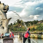 Surya Yudha Water Park Banjarnegara, Ada Patung Merlion dan Liberty Loh di Sini