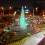 Berkunjung ke Taman Bungkul Surabaya di Malam Hari, Keren Loh!