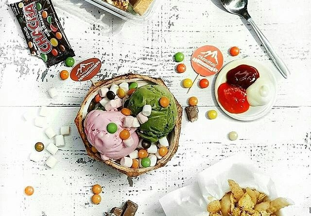 Creamel Ice Cream Surabaya