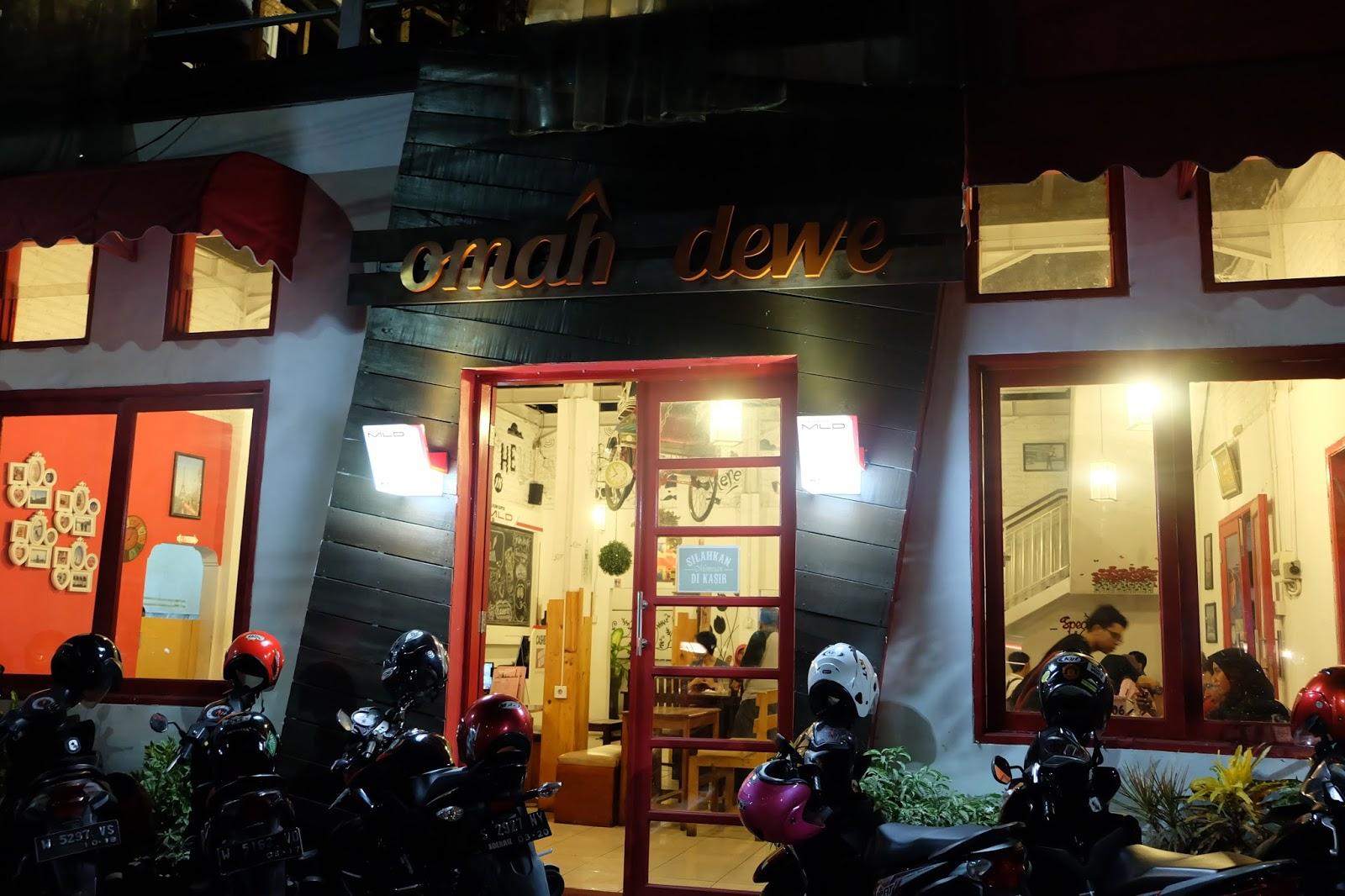 Kafe Omah Dewe Sidoarjo