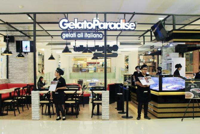 Gelato Paradise Dessert Bar Surabaya