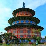 Pagoda Tian Ti Surabaya, Serasa Berwisata ke Temple of Heaven di Tiongkok