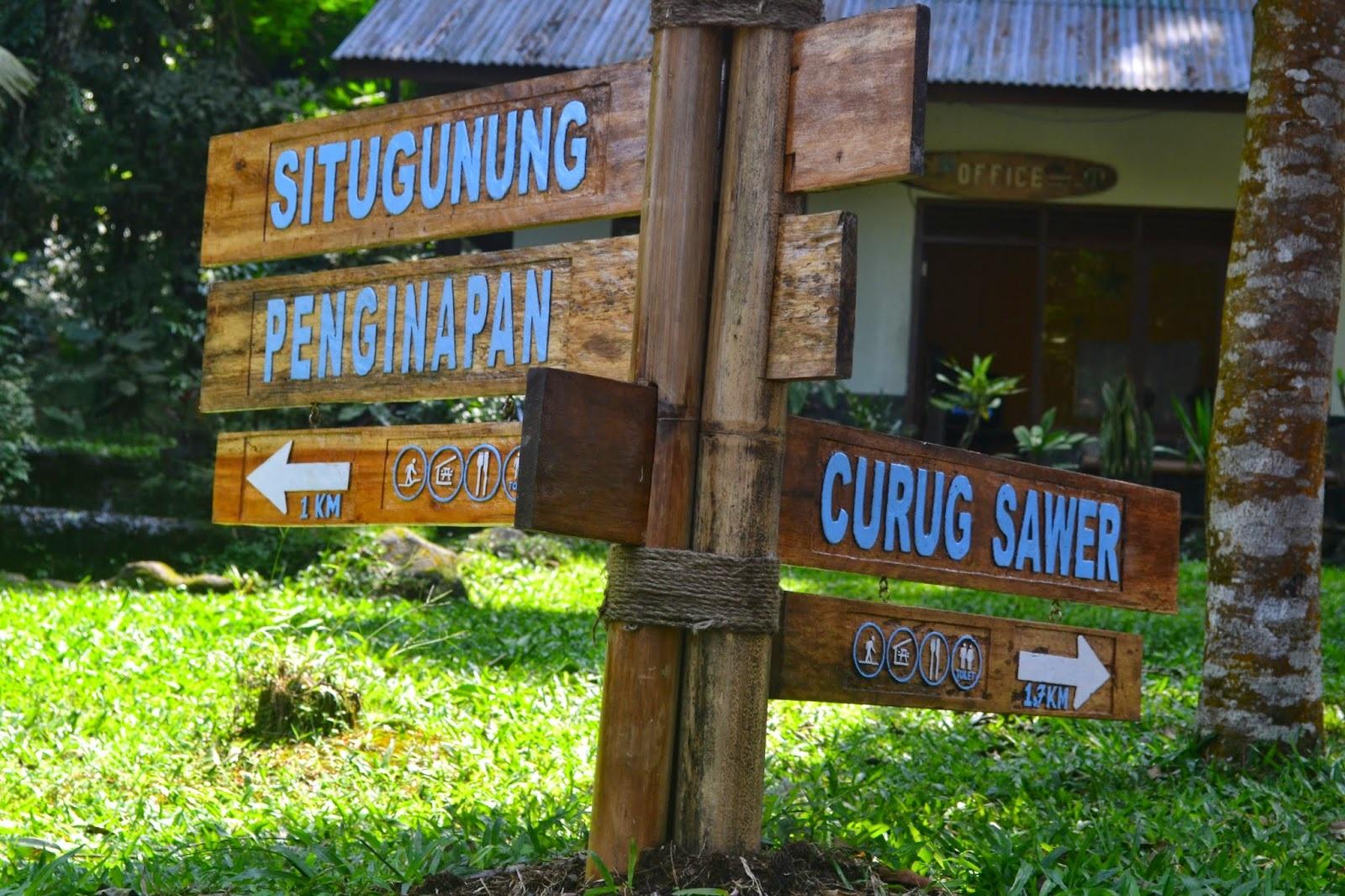 Akomodasi Situ Gunung Sukabumi