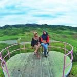 Gardu Pandang Perkebunan Nglegok, Lokasi Terbaik Menyaksikan Keindahan Bukit Teletubbies Blitar