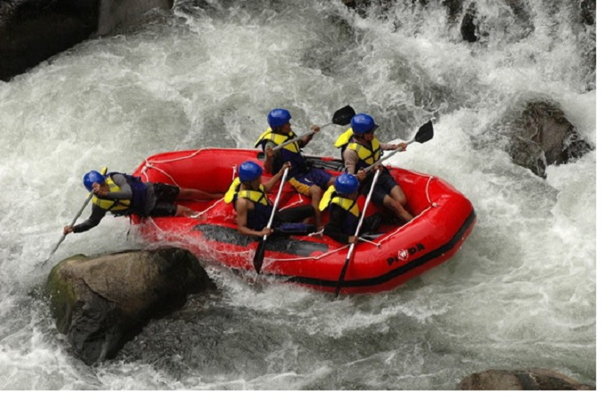 Lokasi Wisata Arung Jeram Sungai Cikundul