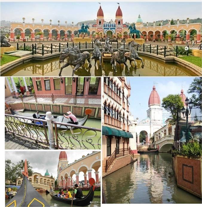 Objek Wisata Little Venice Puncak Cianjur
