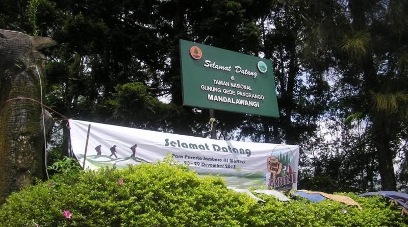 Obyek Wisata Wana Wisata Mandalawangi di Cibodas Cianjur Jawa Barat