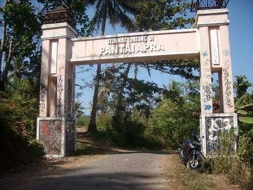 Pantai Apra Cianjur Selatan, Keindahan Pantai Yang terpendam
