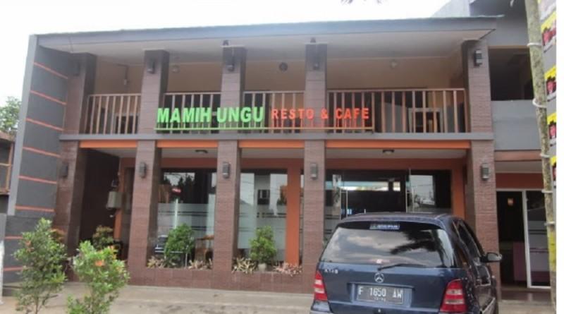 Restoran Mamih Ungu Sukabumi, Menyajikan Nasi Uduk Ungu