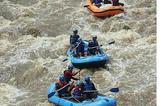 Wisata Arung Jeram Sungai Cikundul, Menikmati Wisata Alam Liar