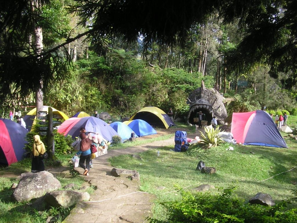 daya tarik Obyek Wisata Wana Wisata Mandalawangi