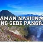 Taman Nasional Gunung Gede Cianjur