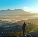 Bukit Karang Numpang, Tempat Menikmati Panorama Sukabumi