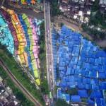 Kampung Biru Arema Malang, Kampung Unik dengan Nuansa Biru Kebanggaan Arek Malang
