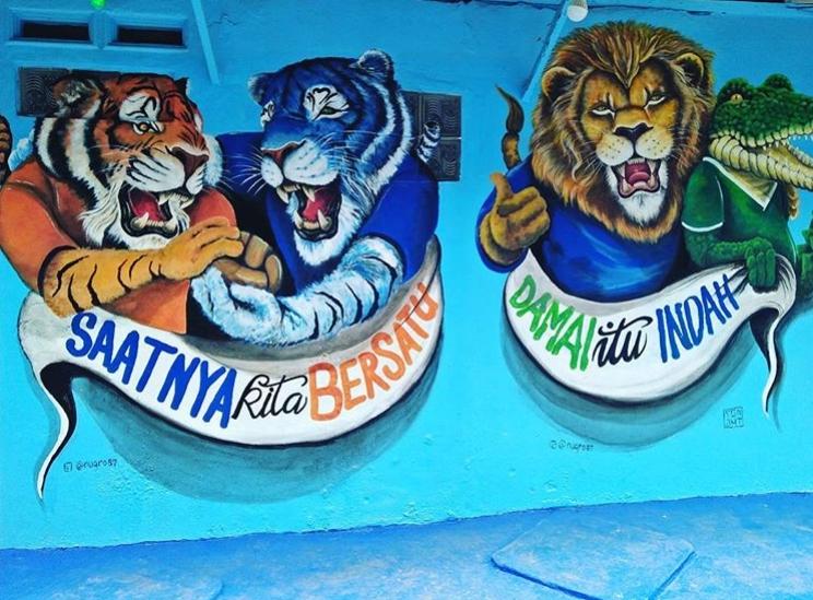 Kampung Biru Arema Malang-4