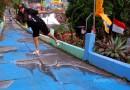 Kampung Tridi Malang, Alternatif Wisata Instagramable Penuh Warna di Kota Apel