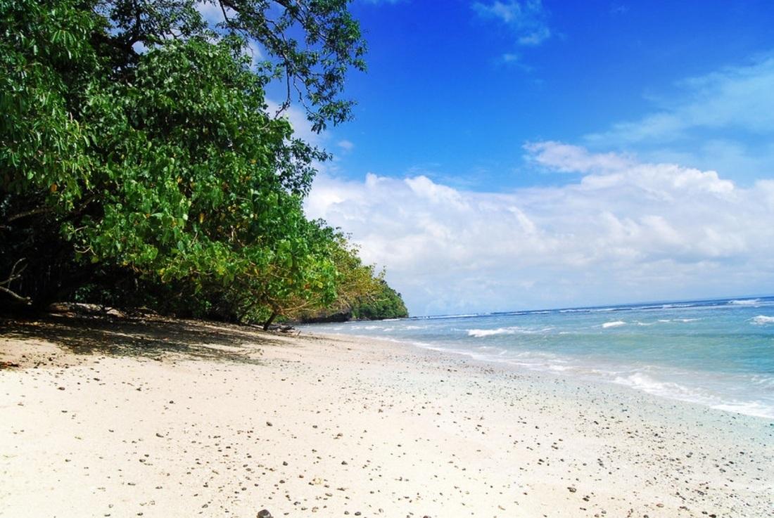 Lokasi Pantai Ujung Genteng