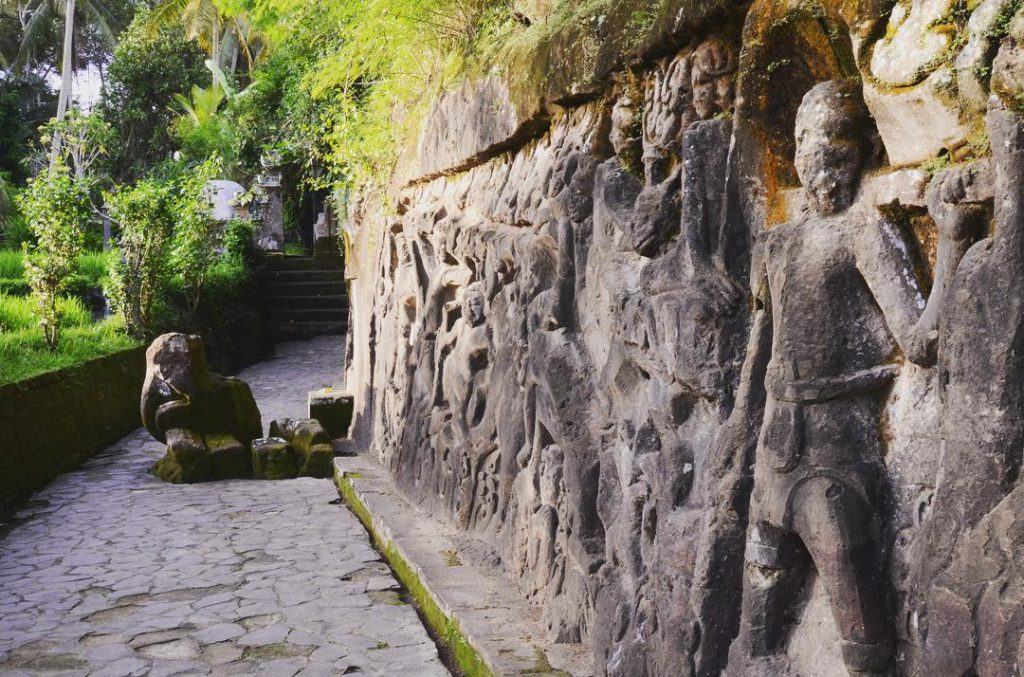Relief Yeh Pulu Bali