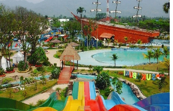 Santasea Waterpark Sukabumi, Wahan