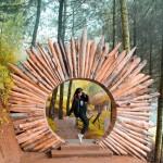 Goa Pinus Batu, Wisata Instagramable yang Adem Banget di Malang