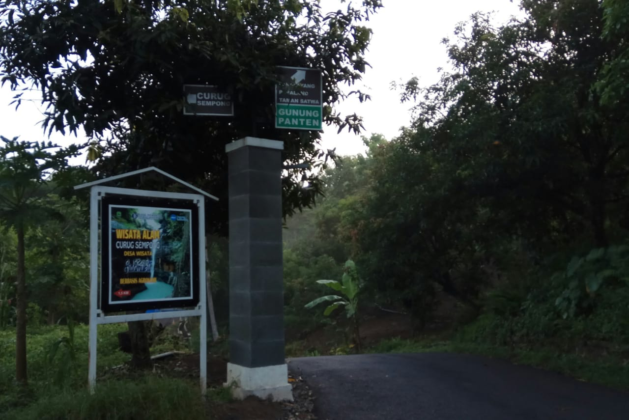 objek wisata curug sempong