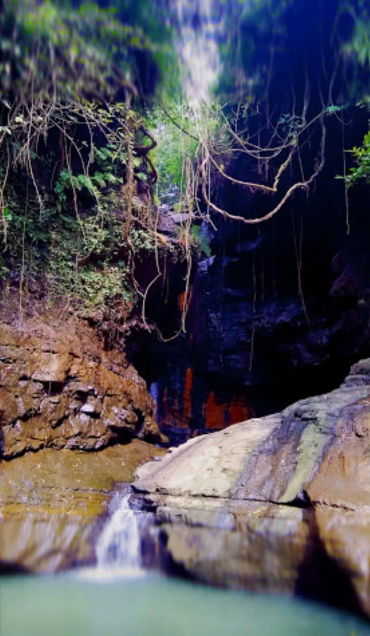 objek wisata air terjun indonesia