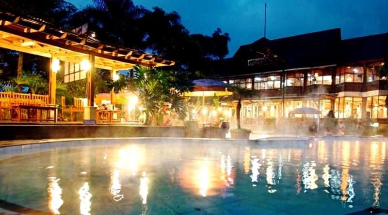 tujuan wisata, air panas